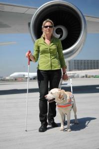 Blindenhund mit Tanja Kohl
