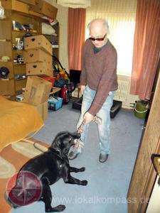 Blindeführhund-Einarbetung