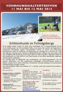 Flyer Führhundhalter-Treffen