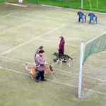 Parcours auf Tennisplatz